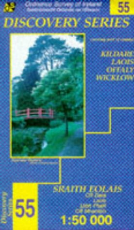 Kildare, Laois, Offaly, Wicklow (Irish Discovery Maps): Ordnance Survey of Ireland