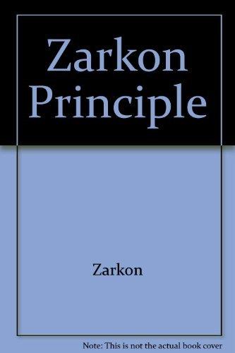 9780905018003: Zarkon Principle
