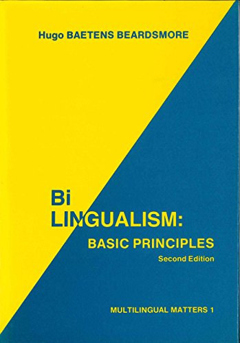 9780905028637: Bilingualism: Basic Principles 2nd Ed. (Multilingual Matters Series)