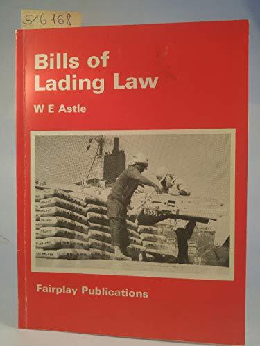 9780905045344: Bills of Lading Law