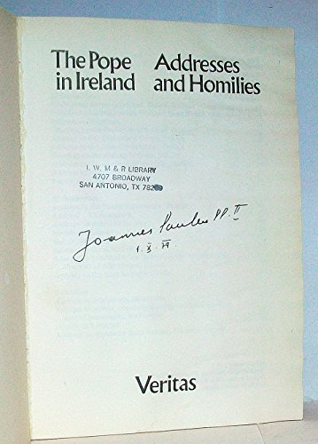 Pope in Ireland: Addresses and Homilies: John Paul