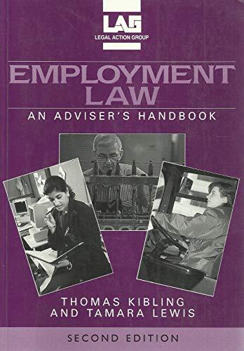 9780905099446: Employment Law: An Adviser's Handbook