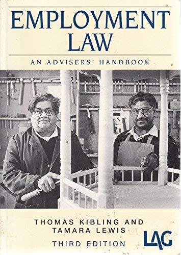 9780905099712: Employment Law: An Adviser's Handbook