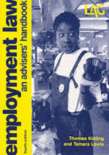 9780905099934: Employment Law: An Adviser's Handbook