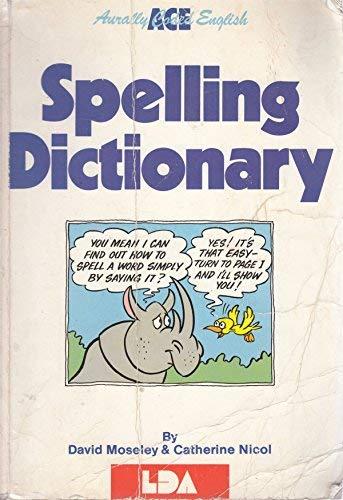 9780905114163: A. C. E. Spelling Dictionary