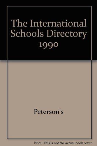 9780905115269: International Schools Directory, 1989