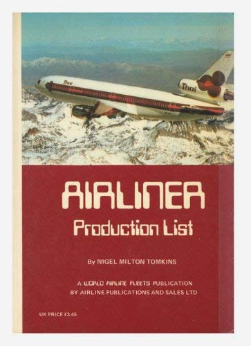 Airliner Production List (1978)