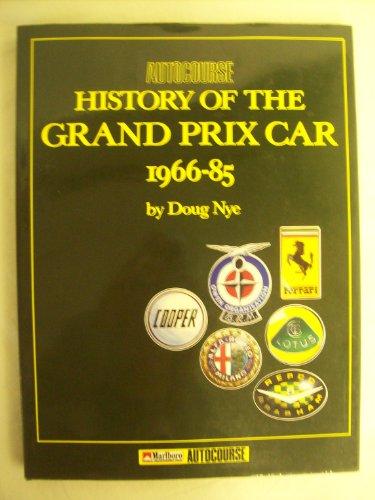 AUTOCOURSE HISTORY OF THE GRAND PRIX CAR 1966-85: Nye, Doug