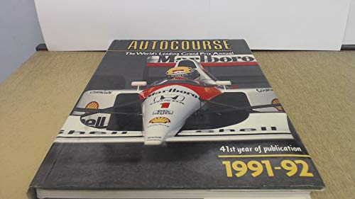 9780905138879: Autocourse: The World's Leading Grand Prix Annual, 1991-92