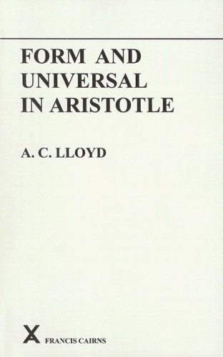 9780905205052: Form and Universal in Aristotle (Arca Classical and Medieval Texts, Papers and Monographs (Paperback))