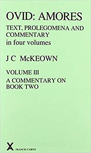 9780905205403: Ovid: Amores, Volume IV: A Commentary on Book Three (v. 4) (Latin Edition)