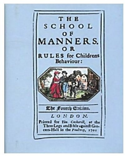 The School of Manners (0905209362) by Victoria Albert Museum
