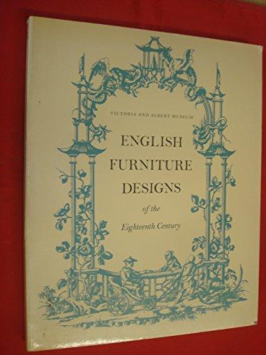 9780905209487: English Furniture Designs of the Eighteenth Century