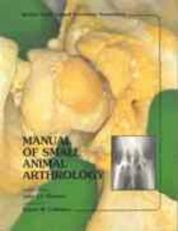 Manual of Small Animal Arthrology (BSAVA British