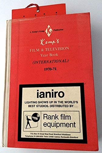 9780905255996: Kemp's Film and Television Year Book: International