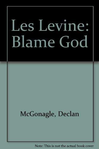 Les Levine BLAME GOD Billboard Projects: Thomas McEvilley, Les Levine