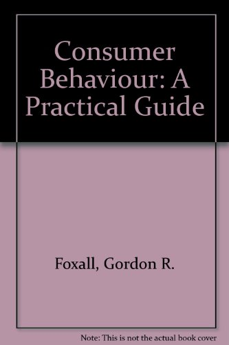 9780905269016: Consumer Behaviour: A Practical Guide