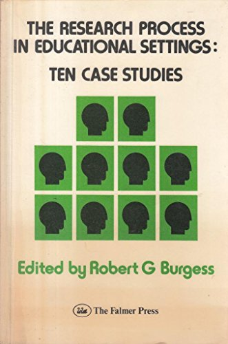 9780905273914: The Research Process in Educational Settings: Ten Case Studies (Open University Set Text)