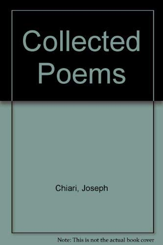 9780905289656: Collected Poems
