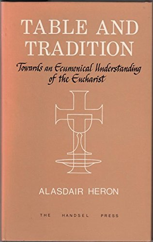 9780905312217: Table and Tradition