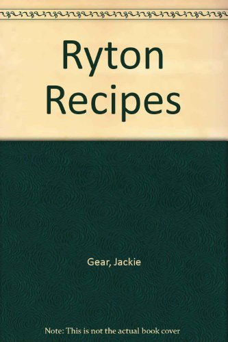 Ryton Recipes (090534314X) by Jackie Gear; David Mabey