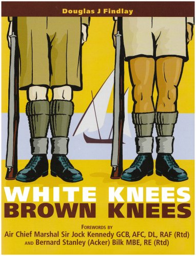 9780905389011: White Knees Brown Knees: Suez Canal Zone 1951 - 54 the Forgotten Years