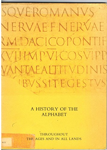 9780905418131: History of the Alphabet