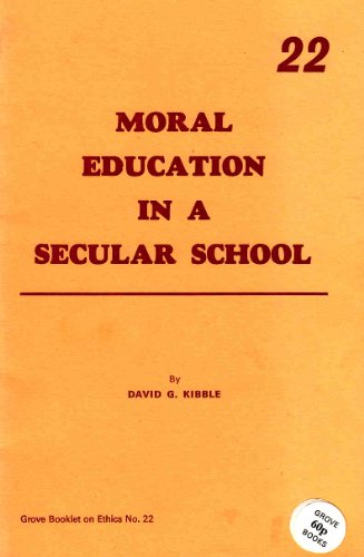 moral education david purpel The moral & spiritual crisis in education : a curriculum for justice and compassion in education / david schools and meaning : essays on the moral nature of schooling / edited by david e purpel, h svi shapiro.
