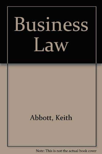 9780905435671: Business Law