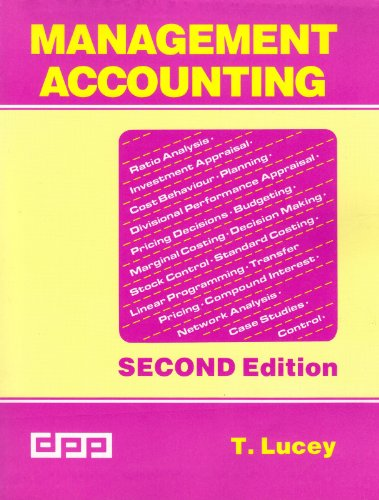 9780905435947: Management Accounting
