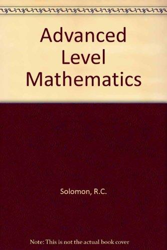 9780905435992: Advanced Level Mathematics