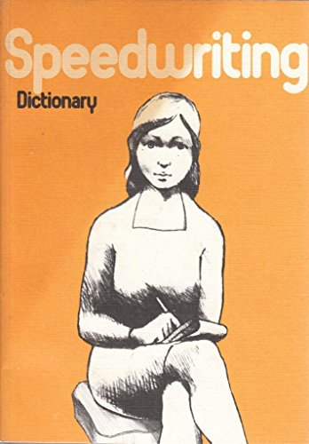 9780905480152: Speedwriting, Dictionary