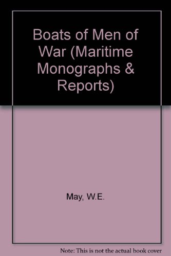 9780905555911: Boats of Men of War (Maritime Monographs & Reports)