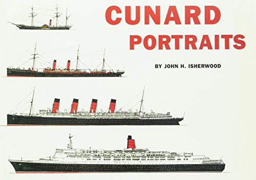 Cunard Portraits: 144 Scale Line Drawings of: Isherwood, John