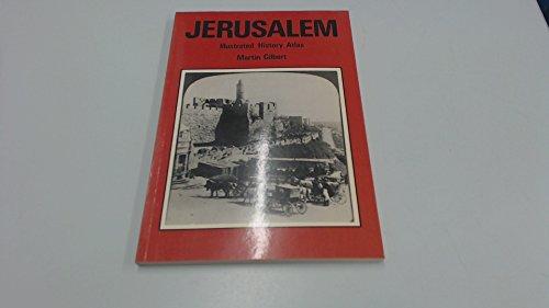 9780905648040: Jerusalem, illustrated history atlas