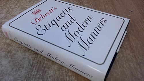 9780905649436: Debrett's Etiquette and Modern Manners