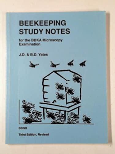 9780905652795: Beekeeping Study Notes for the BBKA Microscopy Examination