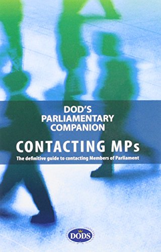 Dod's Parliamentary Companion: unknown