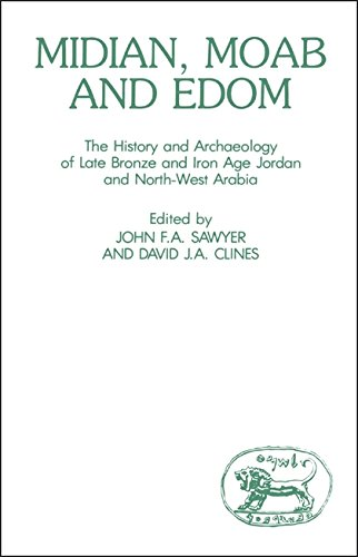 9780905774480: Midian, Moab and Edom: The History and Archaeology of Late Bronze and Iron Age Jordan and North-West Arabia (Journal for the Study of the Old Testament, Supplement Series, No. 24)