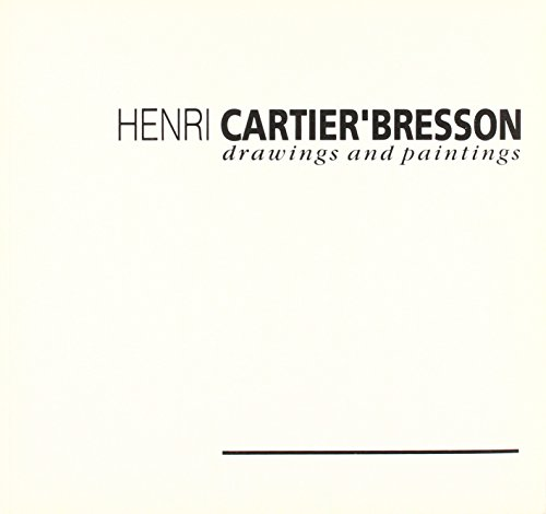 9780905836423: Henri Cartier-Bresson: Drawings and Paintings