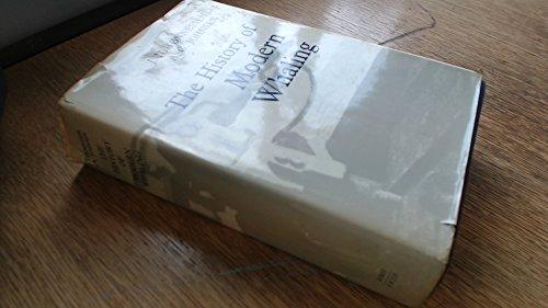 The History of Modern Whaling: Tonnessen, J.N.; Johnsen, A.O.