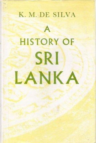 9780905838502: A History of Sri Lanka