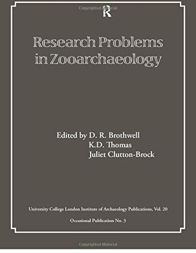 9780905853079: Research Problems in Zooarchaeology (UCL Institute of Archaeology Publications)