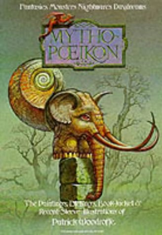 9780905895222: Mythopoeikon: The Paintings, Etchings, Book-Jacket and Record Sleeve Illustrations of Patrick Woodroffe