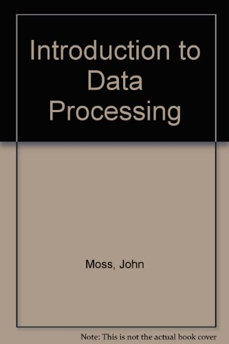 9780905897257: Introduction to Data Processing