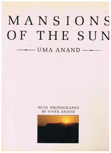 Mansions of the Sun: The Indian Desert Thar: Uma Anand