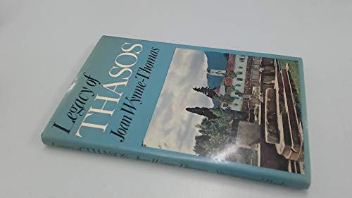 9780905947655: Legacy of Thasos