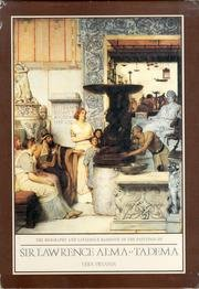 9780906030226: The Biography and Catalogue Raisonne of the Paintings of Sir Lawrence Alma-Tadema