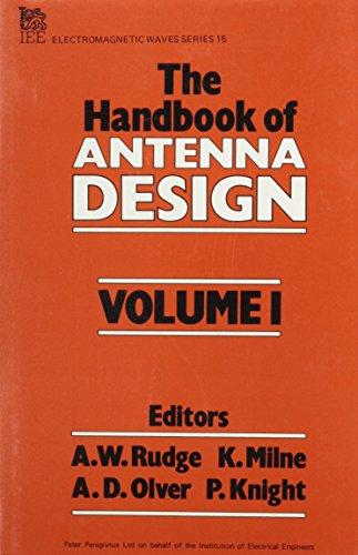 9780906048825: The Handbook of Antenna Design, Vol. 1 (Electromagnetic Waves, Nos. 15 & 16)