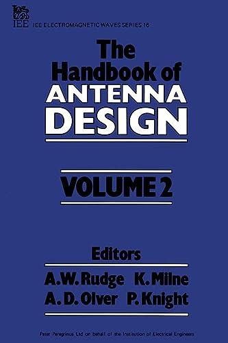 9780906048870: 002: The Handbook of Antenna Design, Vol. 2 (Electromagnetic Waves, Nos. 15 & 16)